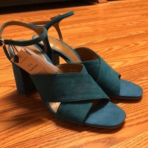 NWT Zara Block Heel Sandals